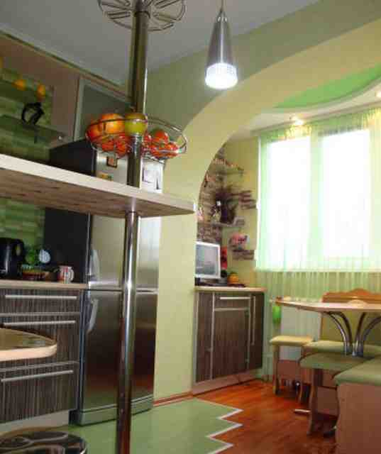 Кухня на балконе или лоджии - фото дизайнов интерьера.