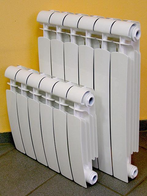 Радиаторы с различным межосевым расстоянием.